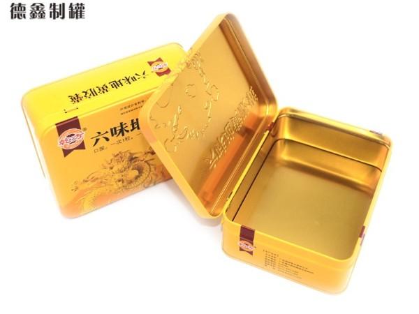 155*115*52MM六味地黄胶囊铁盒