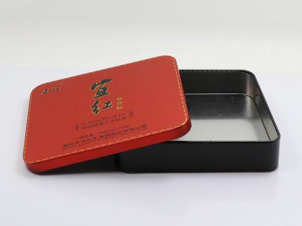 140*120*30MM红茶铁盒