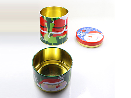 食品铁盒展示图
