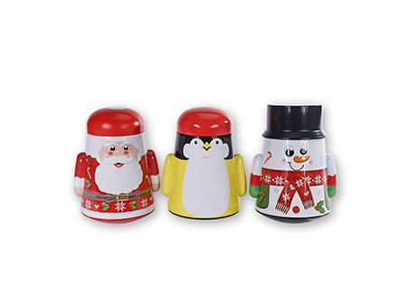 圣诞礼品铁盒展示图