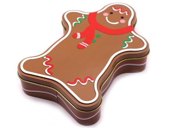 姜饼人圣诞套罐