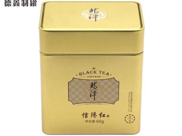 105*75*123MM信阳毛尖茶铁盒