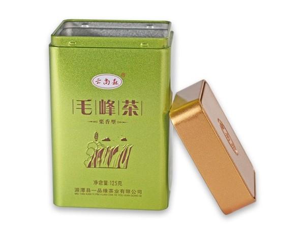 95*75*160MM毛尖茶茶叶铁罐