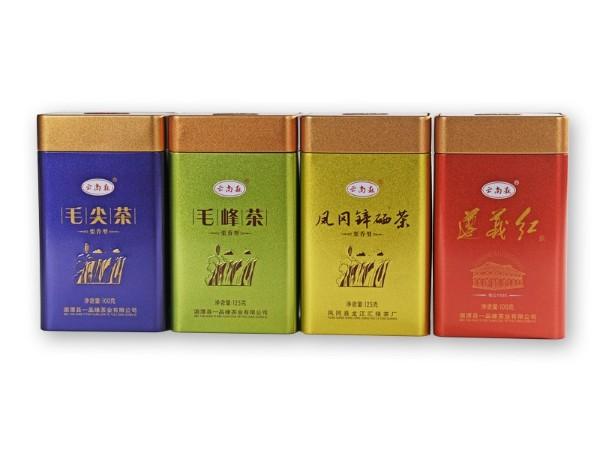 增光添彩的茶叶铁盒
