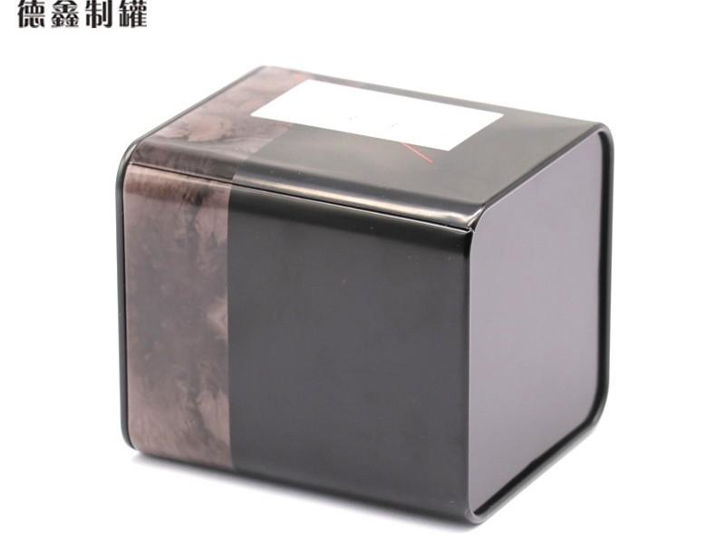 90*90*105MM方形茶叶铁罐