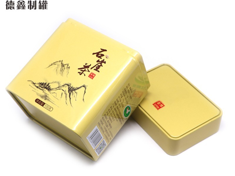 105*75*123MM石崖茶铁盒