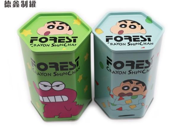 休闲食品铁罐