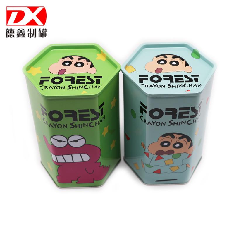 茶叶铁盒展示图