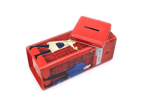 定制化妆品铁盒包装