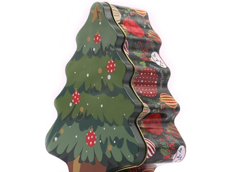 2件套圣诞树罐