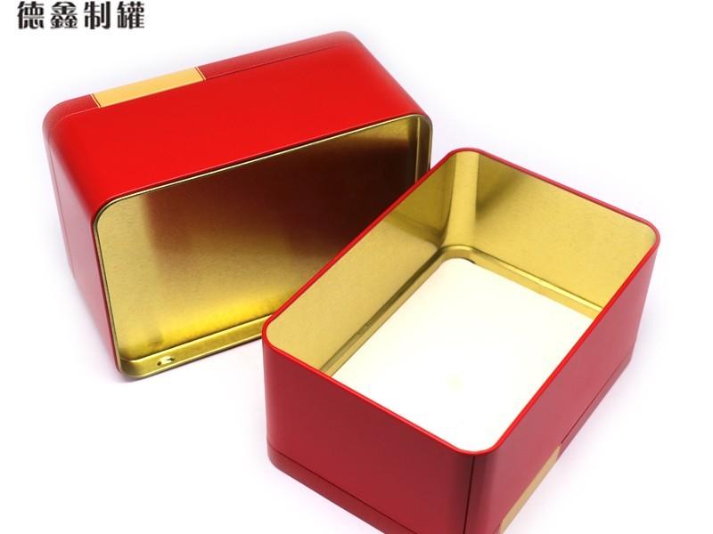 155*105*75MM英红九号茶叶铁罐