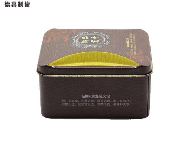 110*80*65MM茗茶铁盒包装